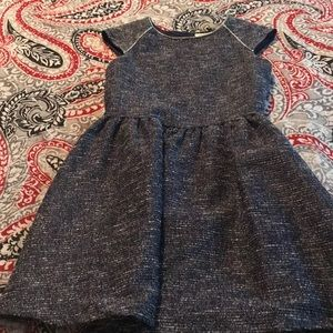 Crazy 8 Navy/Silver accent Dress Size 7